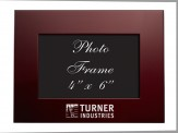 Brushed Aluminum 4 x 6 Picture Frame