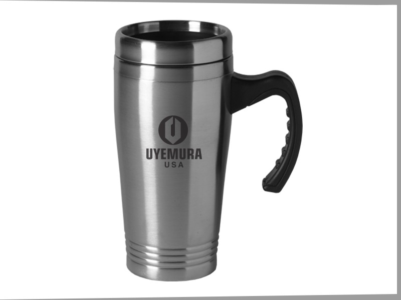 16oz Stainless Steel Colored Tumbler W Handle