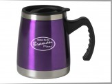 Travel Mug w/ Handle Black