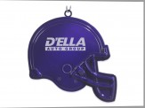 Football Helmet Ornament Black