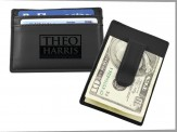 European Money Clip Wallet Black