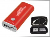 5200mAh Power Bank w/ Travel Zip Case Royal