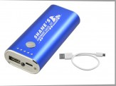 5200mAh Power Bank w/ Travel Zip Case - Royal