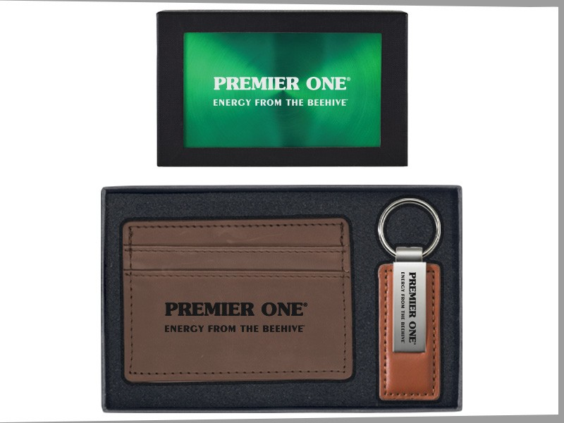 European Money Clip Wallet Amp Leather And Metal Key Tag
