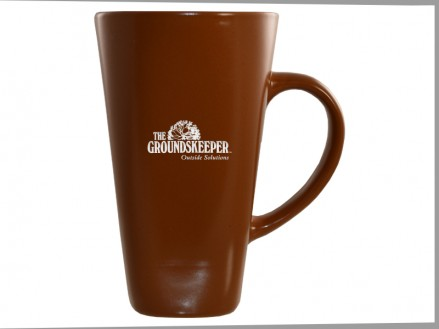 16 oz Tall Café Ceramic Mug (05004-01) Sandstone