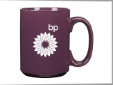 Ceramic Coffee Mug  Purple
