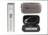 Traveler Power Bank Gift Set with Grey Engraved Travel Case (14028-61) Green