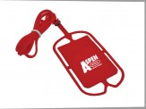 Cell Phone Lanyard (14042-01) - Red