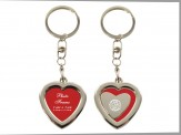 """Memories"" Heart Shaped Photo Key Chain (01092-01-01)"