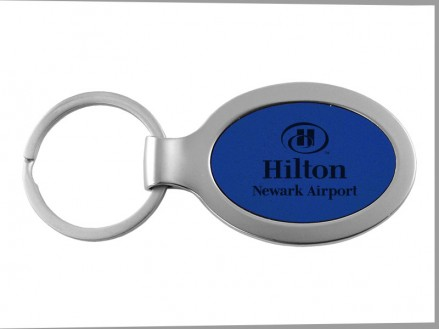 Ultra-Suede Oval Key Chain (01093-01)