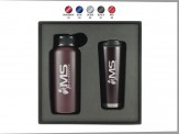 32 oz. All-Day Water Bottle and 16 oz Travel Tumbler Gift Set Engraved Lid (08080-09)
