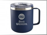 14 oz Squat Mug (04030-01) - Navy