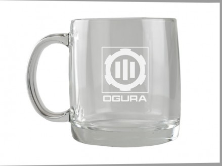 13 oz Glass Cafe Mug (05028-01)