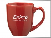 Ceramic Bistro Coffee Mug (05001-02) Cardinal