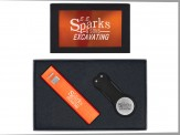2600mAh Power Bank & Divot Repair Tool - Sil