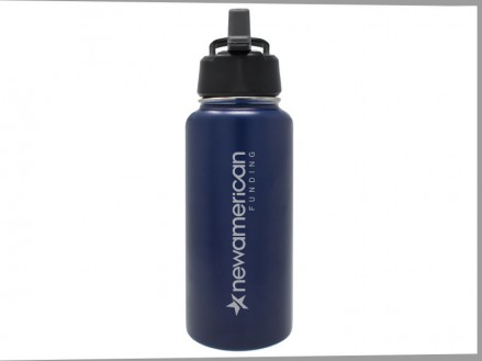 32 oz All-Day: Large Mouth Thermal Canteen (Pop-up Straw Lid) (04016-02)