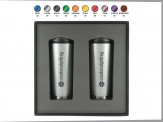 2 Piece 16 oz. Travel Tumbler Gift Set Engraved Lid (08084-09)