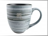 16 oz Clay Swirl Ceramic Mug (05030-01)