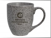 16 oz. EarthTones Ceramic Mug Stone (05033-01)