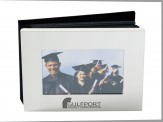 Brushed Aluminum Photo Album