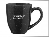 Café Ceramic Mugs Black